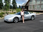 Corvettes and Pretty Girls...just seem to go together.