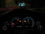 Heads Up Display.